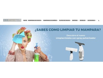 EIDEATERC - MAMPARAS DE DUCHA Y ACCESORIOS DE EXCELENTE CALIDAD