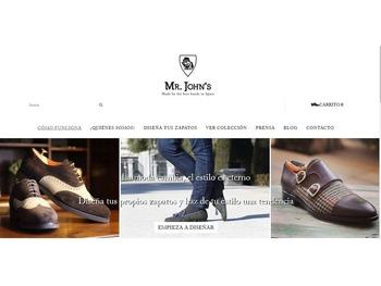 Mr. Johns - Diseña tus zapatos