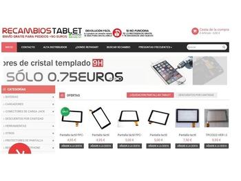 Recambios Tablet - Tablet + Ordenadores