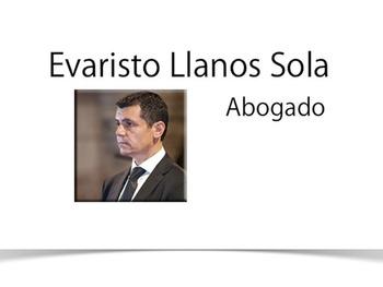 Evaristo Llanos Sola Abogado