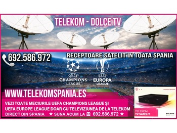 Abonament Contract Aparate Telekom Tv - Dolce Tv Spania