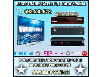 Aparate - Receptoare Digi Tv Satelit Spania
