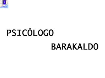 Psicólogo en barakaldo