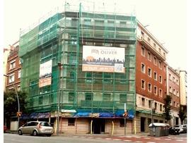 Fachadas Oliver, Rehabilitación de fachadas