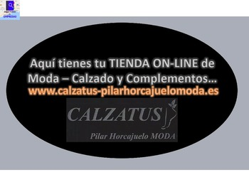 CALZATUS - Pilar Horcajuelo MODA