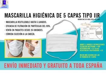 Mascarilla quirugica