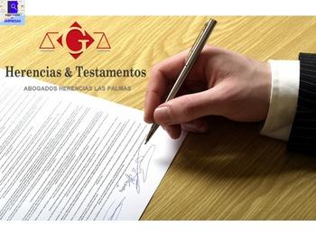 Abogado especialista en herencias Las Palmas